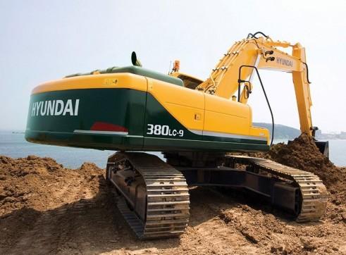 38 Tonne Hyundai R380LC-9 Excavator