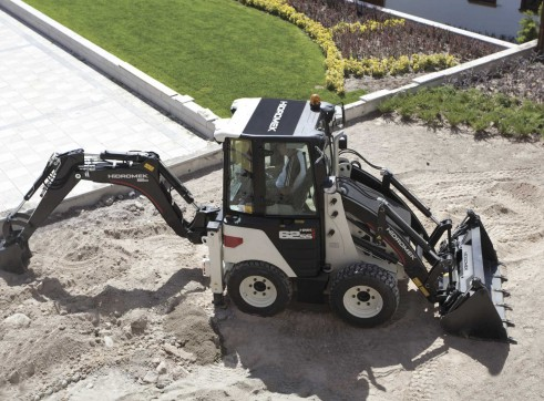 3.8T Hidromek HMK 62SS Backhoe Loader 10