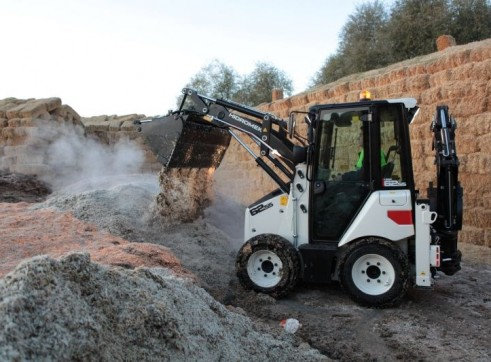 3.8T Hidromek HMK 62SS Backhoe Loader 4