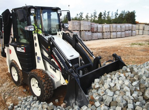 3.8T Hidromek HMK 62SS Backhoe Loader 3