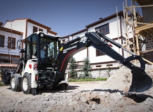 3.8T Hidromek HMK 62SS Backhoe Loader 7