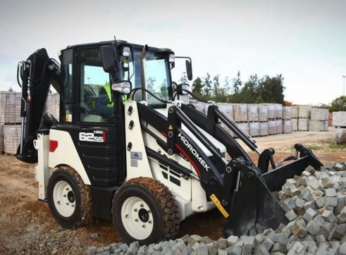 3.8T Hidromek HMK 62SS Backhoe Loader 8
