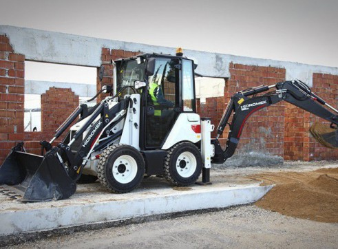 3.8T Hidromek HMK 62SS Backhoe Loader 9