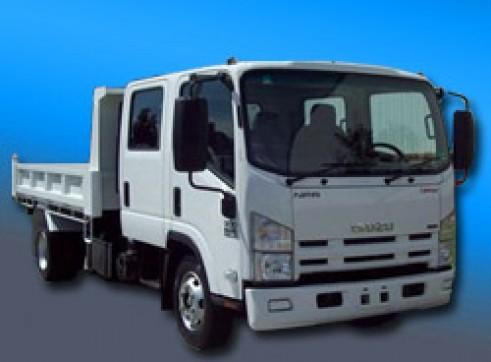 3M Dual Cab Tip Truck