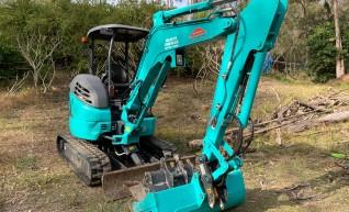 3T Kobelco Excavator Dry Hire 1
