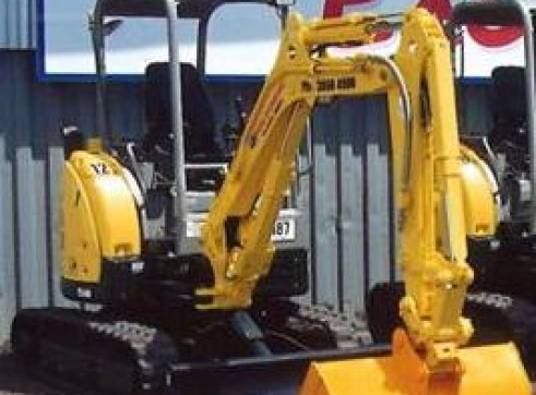 3T VR030 Yanmar Excavator - Mine Spec - Late Model - Many Available