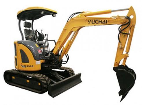 3T Yuchai YC25SR - Zero Swing Mini Excavator 1