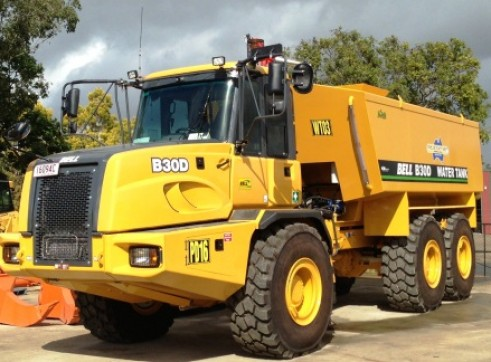 3x 30T Articulated Water Trucks 1