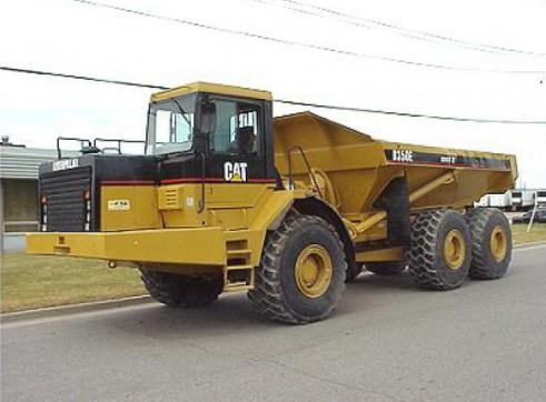 3x CAT D350E Articulated Dump Truck 1