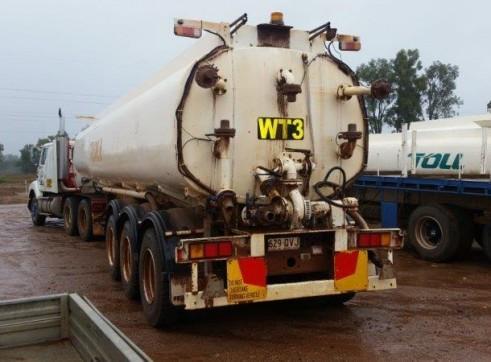 4 x 25,000L Semi Water Trucks 2