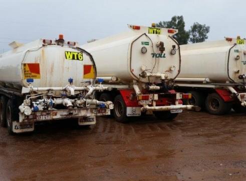4 x 25,000L Semi Water Trucks 3