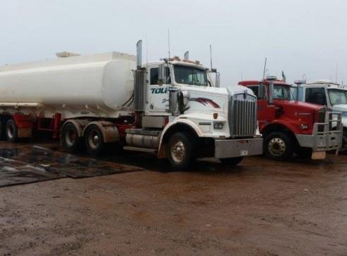4 x 25,000L Semi Water Trucks 4