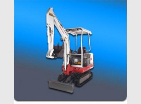 4.5 Ton Takeuchi Excavator 1