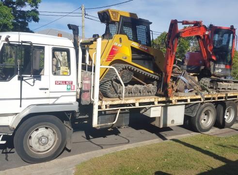 4.5T Excavator w/80HP Posi Track Combo 1