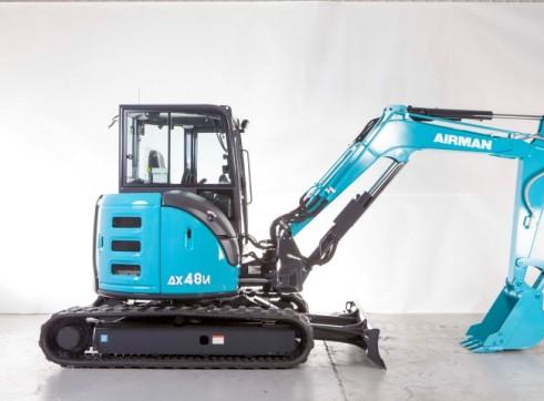 4.8T AIRMAN AX48U-6A / AX48UCG-6A Excavator 1