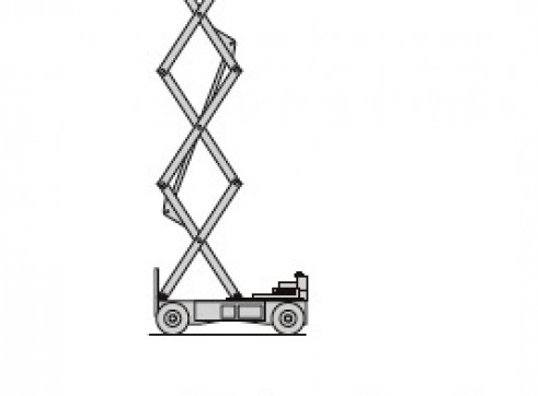 40' Electric Scissor Lift 1