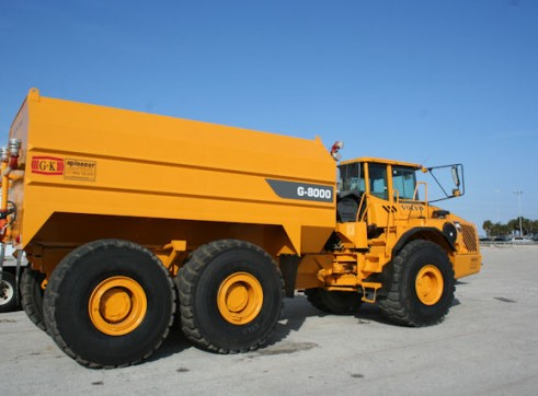 40 KL Volvo A40E Articulated Water Truck