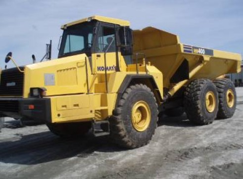 40 TON ARTICULATED DUMP TRUCK 1