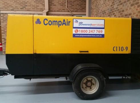 400 CFM Portable Compressor 1