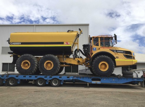 40,000L Volvo A40G Water Cart 1