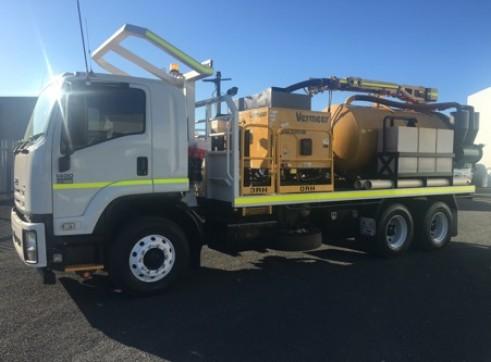 4000L Vermeer VSK1200 D Vacuum Excavation System 1