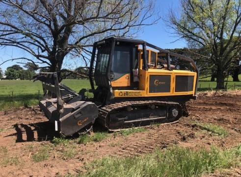 400HP AHWI RT400 Track Mounted Mulcher