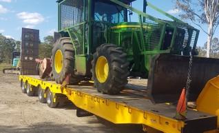 400HP John Deere Tractor w/Mulcher 1