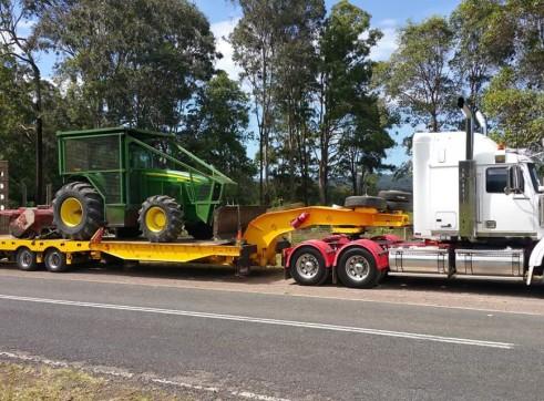 400HP John Deere Tractor w/Mulcher 2