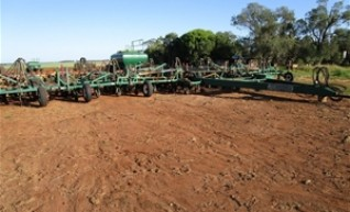 40FT Janke Universal Direct Drill Airseeder 1