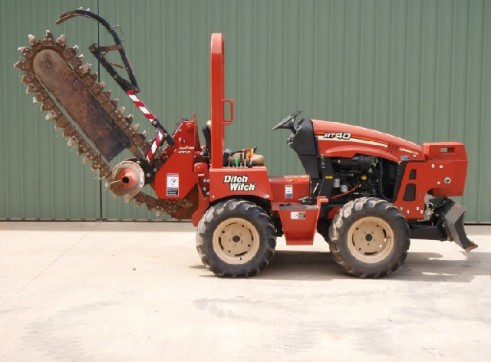40HP Ditch Witch RT40 Trench Digger 5