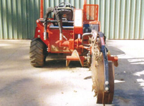 40HP Ditch Witch RT40 Trench Digger 3