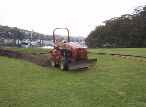 40HP Ditch Witch RT40 Trench Digger 6