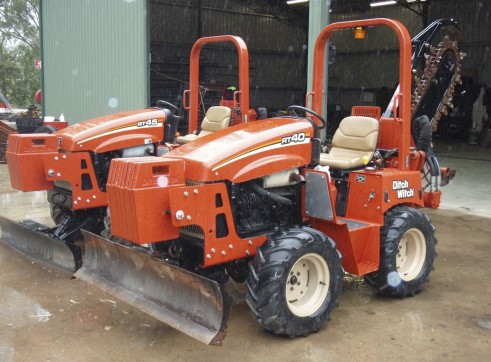 40HP Ditch Witch RT40 Trench Digger 7