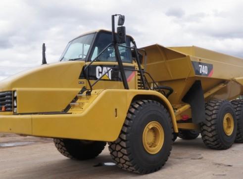 40KL Cat 740 Articulated Water Truck