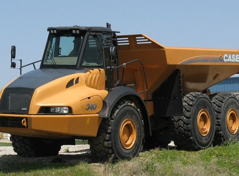 40T Articulated Dump Truck 1