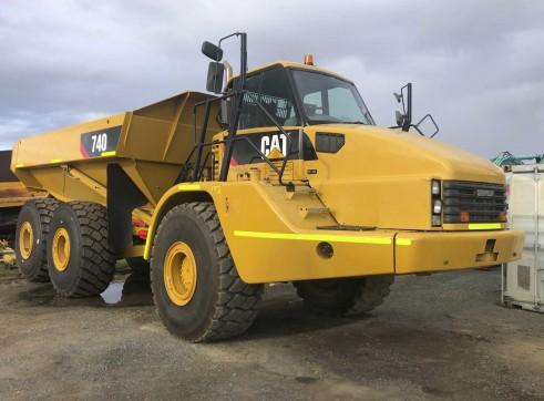 40T Caterpillar 740 Artic Dump Trucks 1
