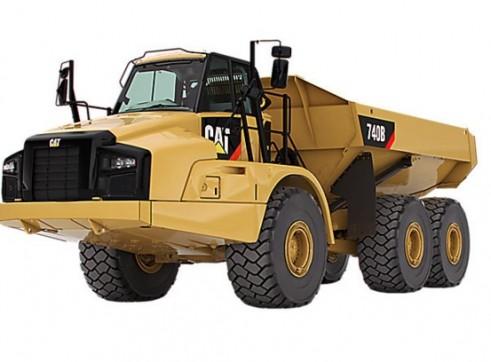 40T Caterpillar Articulated Dump Truck 1