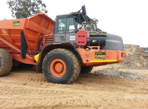 40t Tonne Articulated Dump Trucks 1
