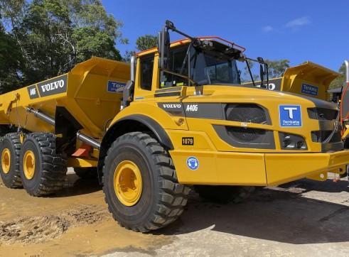 40T Volvo A40G Articulated Dump Truck 1