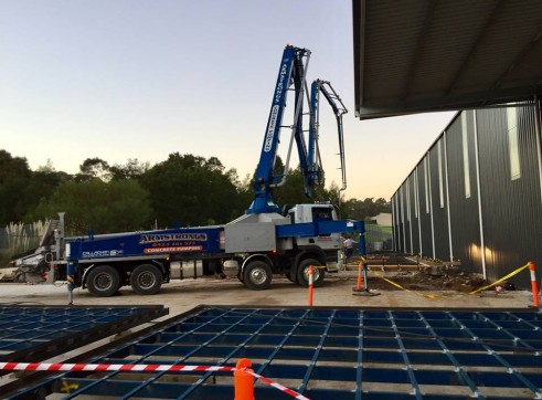 42m Truck Mounted Concrete Boom Pump 1