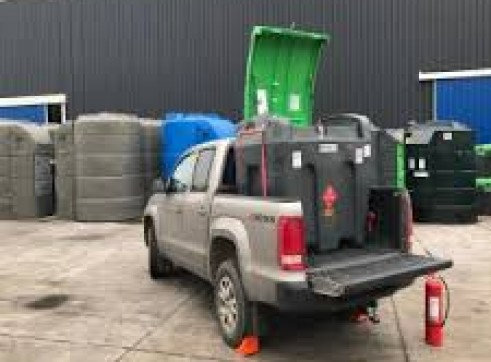 430 Litre TruckMaster  Mobile Diesel Tank with an integral 12V pump system 2
