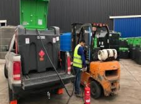 430 Litre TruckMaster  Mobile Diesel Tank with an integral 12V pump system 4