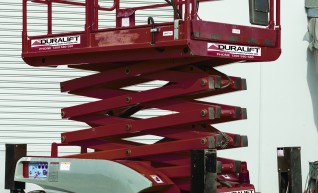 43ft Diesel 4x4 All Terrain Scissor Lift 1