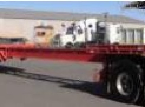 45-60FT Drop Deck Ext Tri-Axle Trailers 1