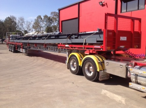 45-60ft Extendable Tri-Axle Trailers