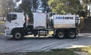 4500L Vacuum Excavation Trucks 1