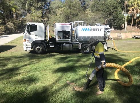 4500L Vacuum Excavation Trucks 2
