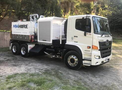 4500L Vacuum Excavation Trucks 3