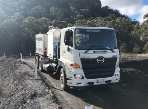 4500L Vacuum Excavation Trucks 4