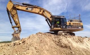 45T Cat 345C Excavator Full Mine Spec - Leica GPS(3D) 1